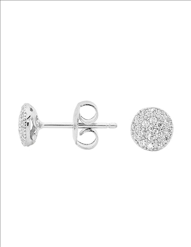 GEORGINI PETITE CIRCLE EARRINGS