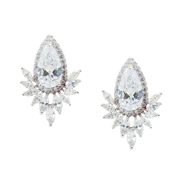 CHRYSALINI RADIANT EARRINGS