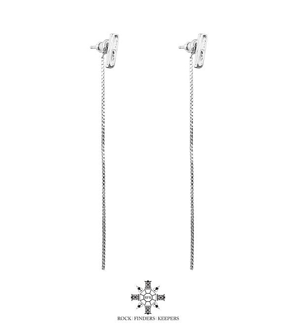 ROCK FINDERS KEEPERS ALEXA WITH CHAIN EARRINGS