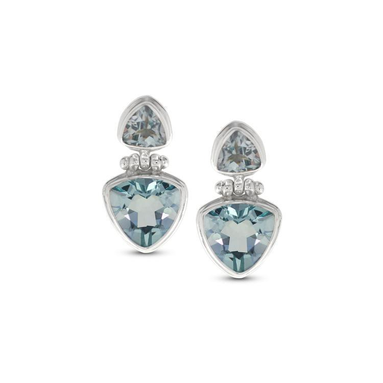 COTTON & CO LULOAH BERMUDA TRIANGLE EARRINGS