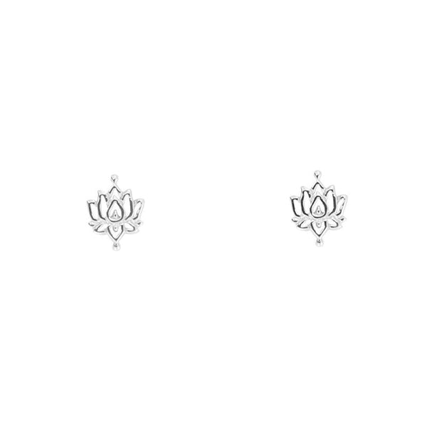 MIDSUMMER STAR INTRICATE LOTUS EARRINGS