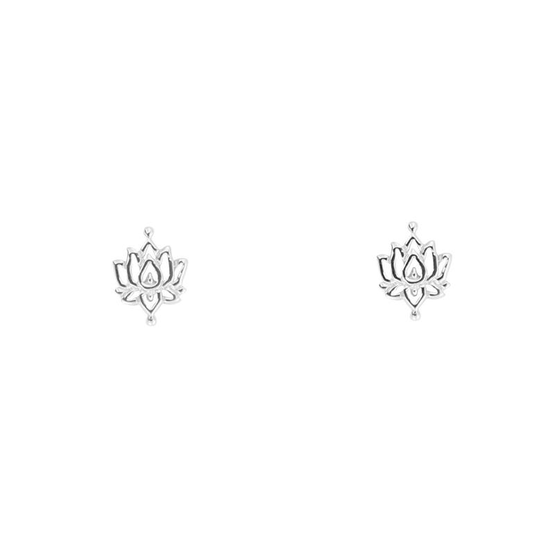 INTRICATE LOTUS EARRINGS