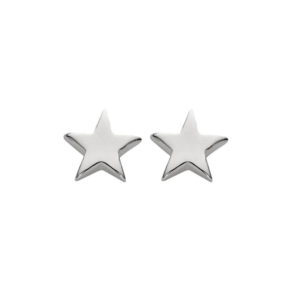 SILVERGIRL TINY STAR EARRINGS