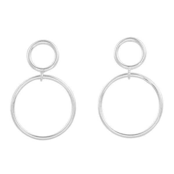 MIDSUMMER STAR DOUBLE ORBIT EARRINGS