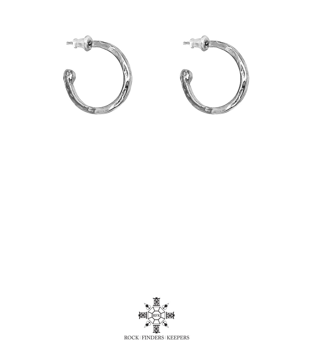 ROCK FINDERS KEEPERS PHOENIX MEDIUM HOOP EARRINGS
