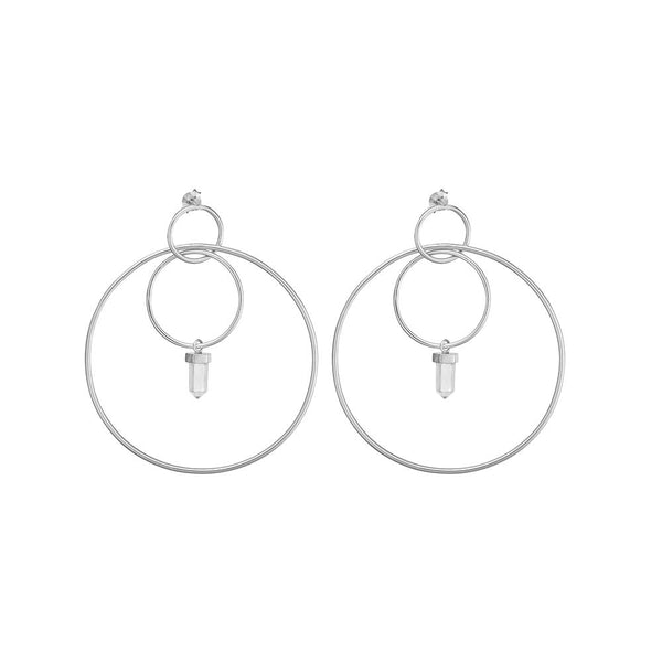 KRYSTLE KNIGHT ONE DAY CRYSTAL EARRINGS
