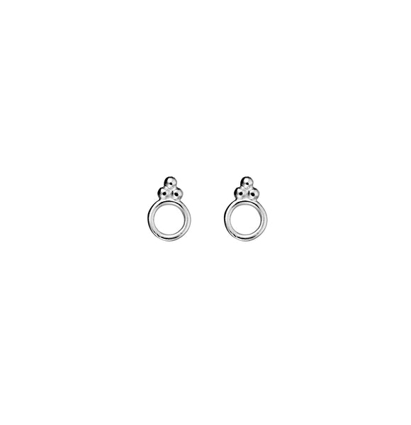 SILVERGIRL OPEN CIRCLE EARRINGS