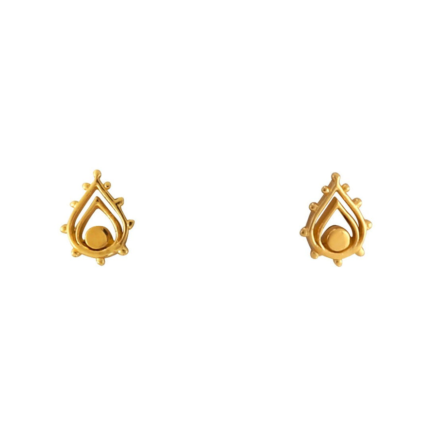 GOLD SUNSET ARCHWAY EARRINGS
