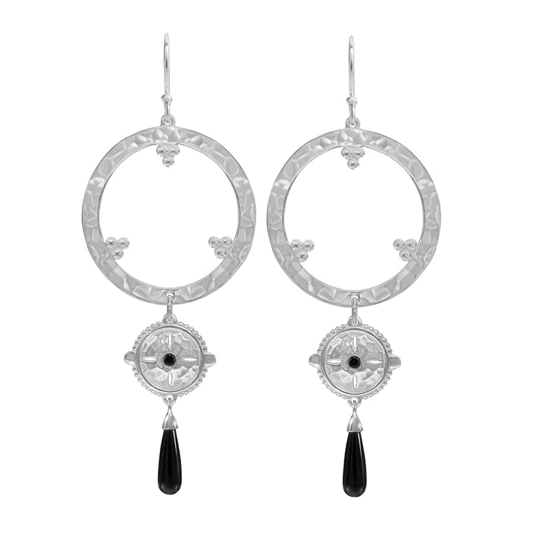 ESCAPE HANGING LONG EARRINGS
