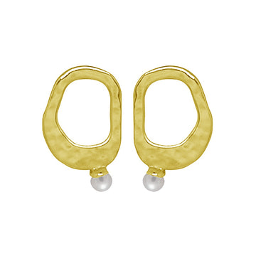 RIVIERA SMALL PEARL EARRINGS