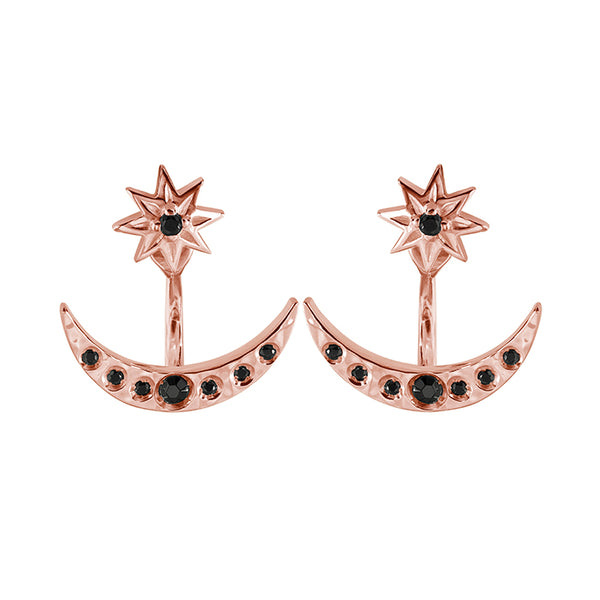 MURKANI BLACK NIGHTS STARRY NIGHTS EARRINGS