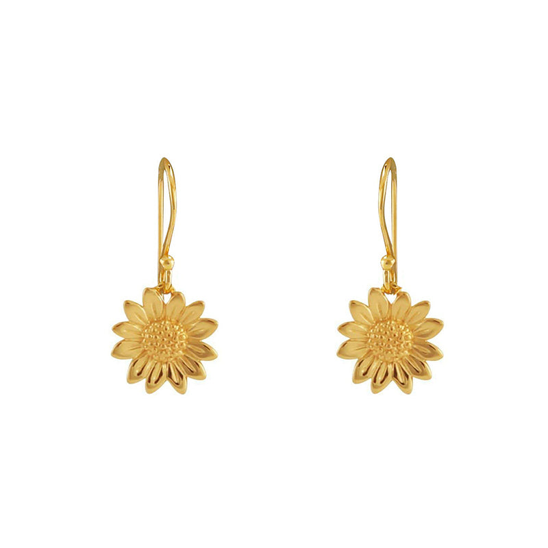 BLOSSOMING SUNFLOWER EARRINGS