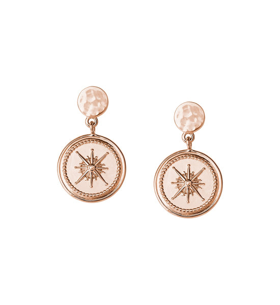 KIRSTIN ASH VOYAGE // TRUE NORTH COIN EARRINGS