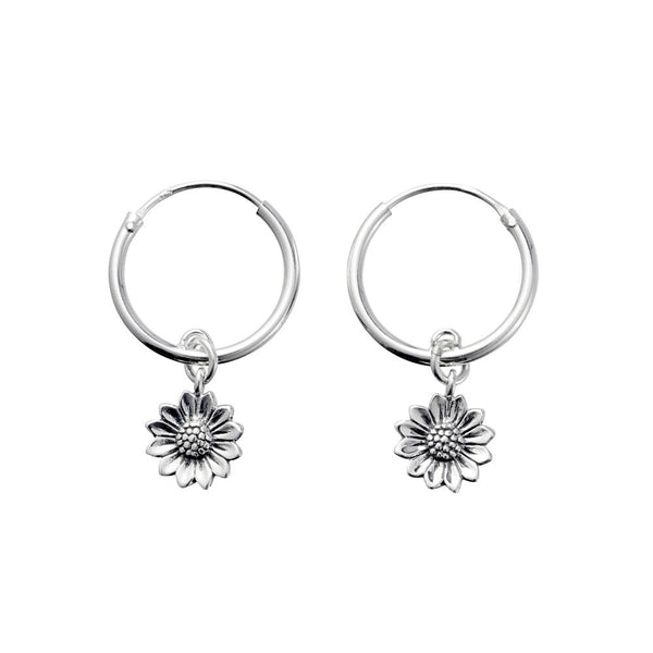 MIDSUMMER STAR DELICATE SUNFLOWER EARRINGS