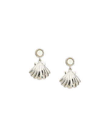 X OLIVE COOKE | BY THE SEA SEASHELL EARRINGS