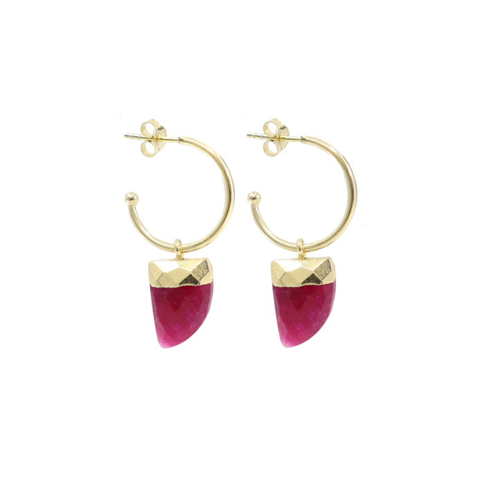 TONIMAY RUBY BABY EARRINGS