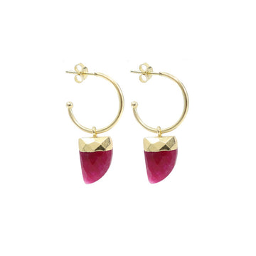 RUBY BABY EARRINGS