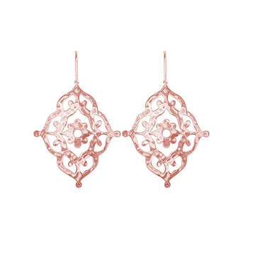 ROSE GOLD WANDERLUST GYPSY EARRINGS