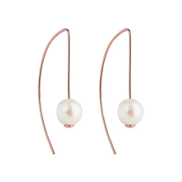 AMITY PALOMITA | ROSE PEARL EARRINGS