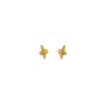 YELLOW BEE STUDS