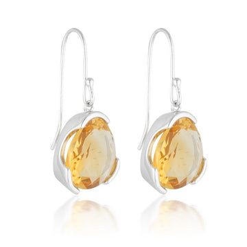 CITRINE COCKTAIL EARRINGS