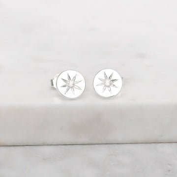 ENCHANTED LIGHT CYRSTAL STUDS