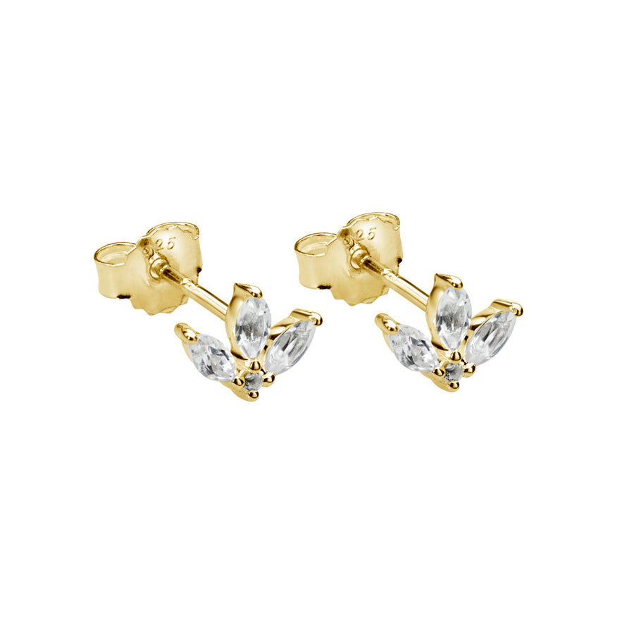 PETITES | LOTUS STUD EARRINGS