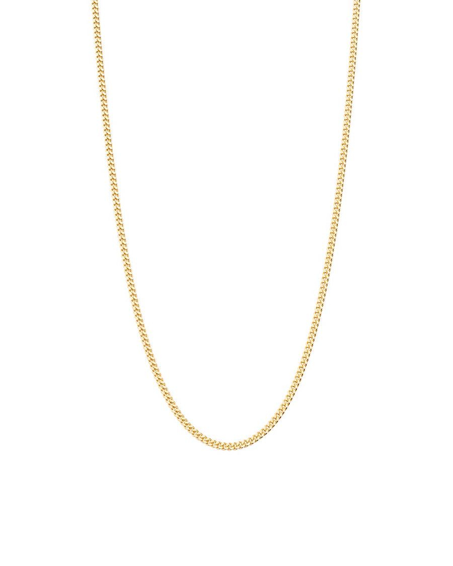 YELLOW GOLD BESPOKE CURB CHAIN
