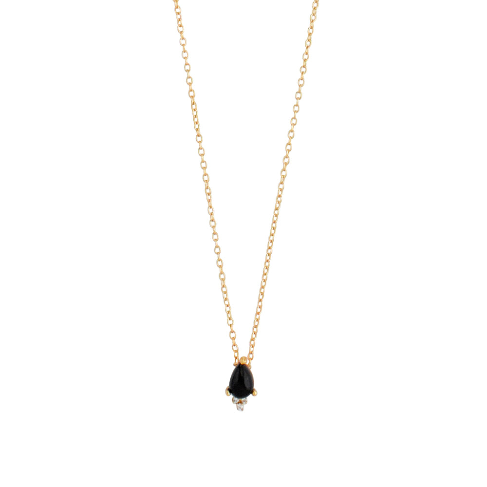 SAMANTHA WILLS MIDNIGHT HUMMINGBIRD PETITE NECKLACE