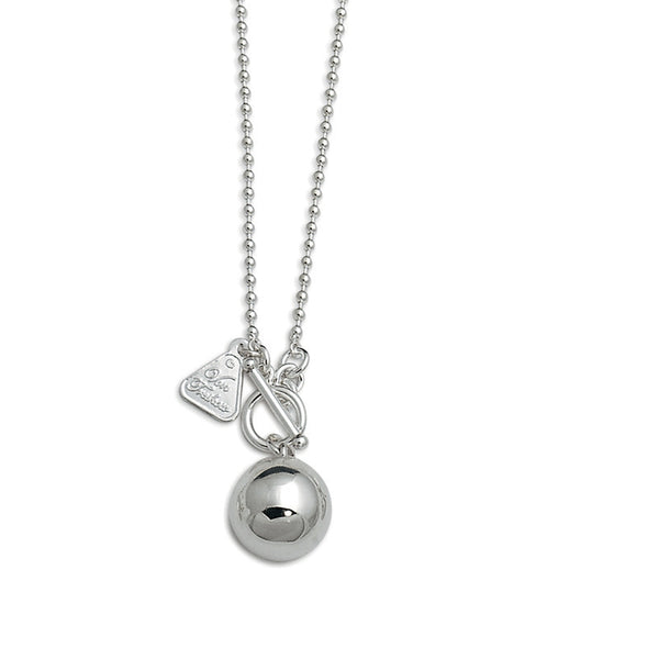 VON TRESKOW CHIME BALL NECKLACE