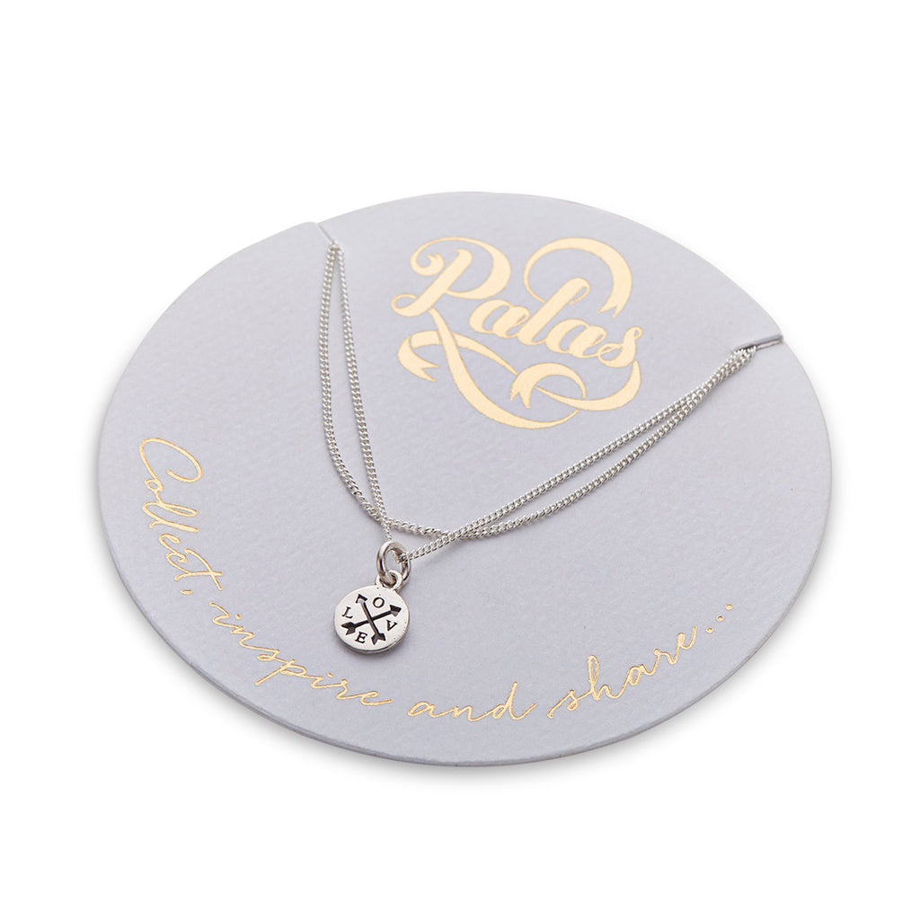 PALAS CELEBRATION ARROW LOVE CHARM NECKLACE