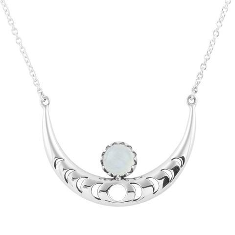 MIDSUMMER STAR MOON PHASES NECKLACE