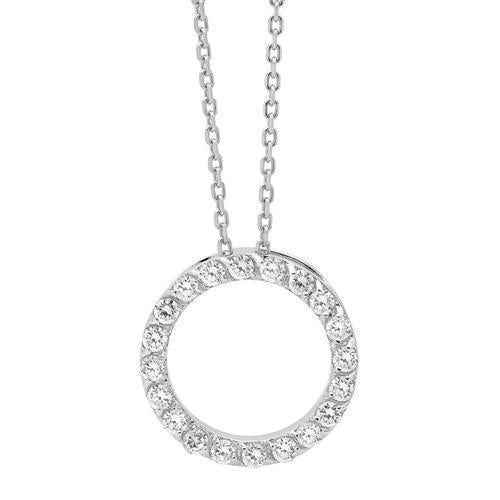 GEORGINI CIRCLE NECKLACE