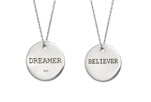 MATTERS SPEAKING SHE'S A DREAMER NECKLACE