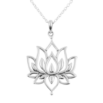 BLOSSOMING LOTUS NECKLACE