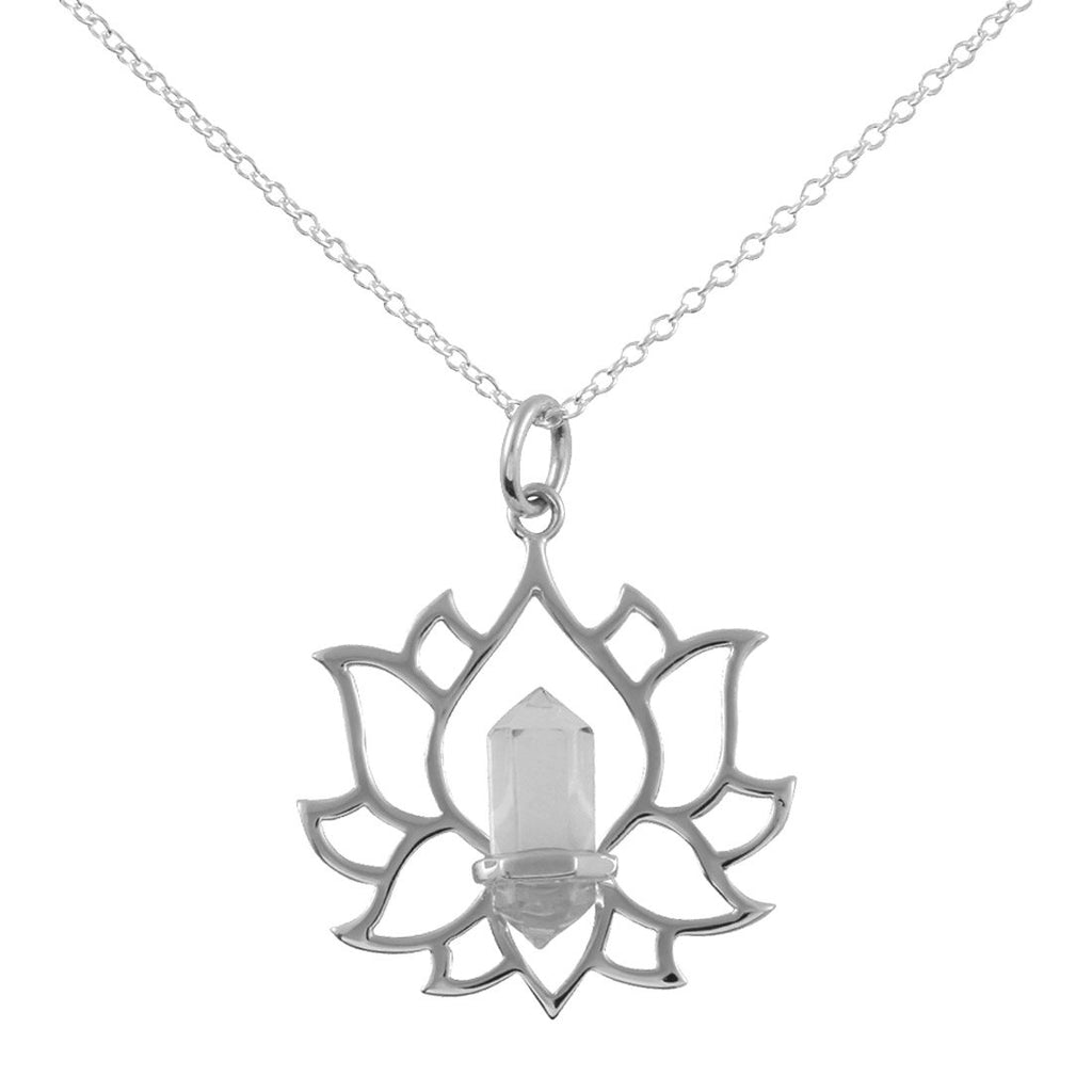 MIDSUMMER STAR EVERLASTING LOTUS NECKLACE