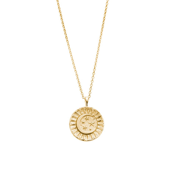 KIRSTIN ASH SUNSET COIN NECKLACE