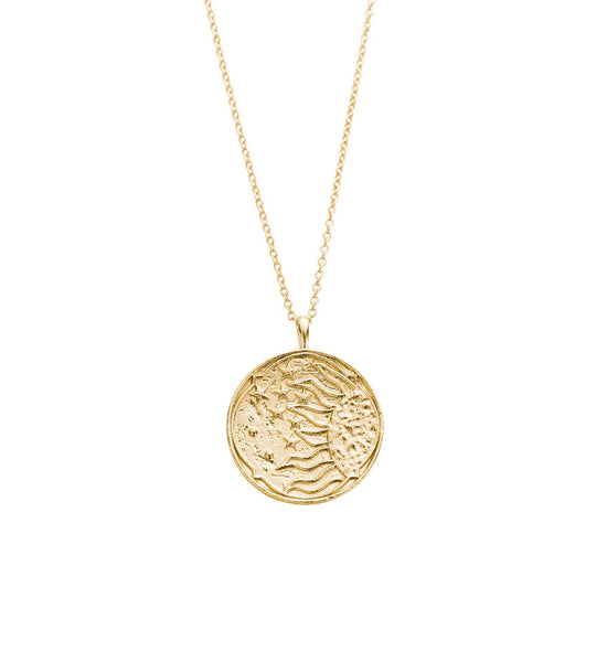 KIRSTIN ASH RADIANCE COIN NECKLACE