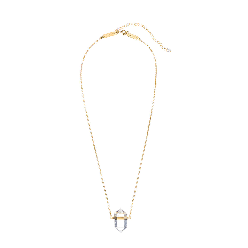 KRYSTLE KNIGHT KEEP ME CALM CRYSTAL NECKLACE | SMALL
