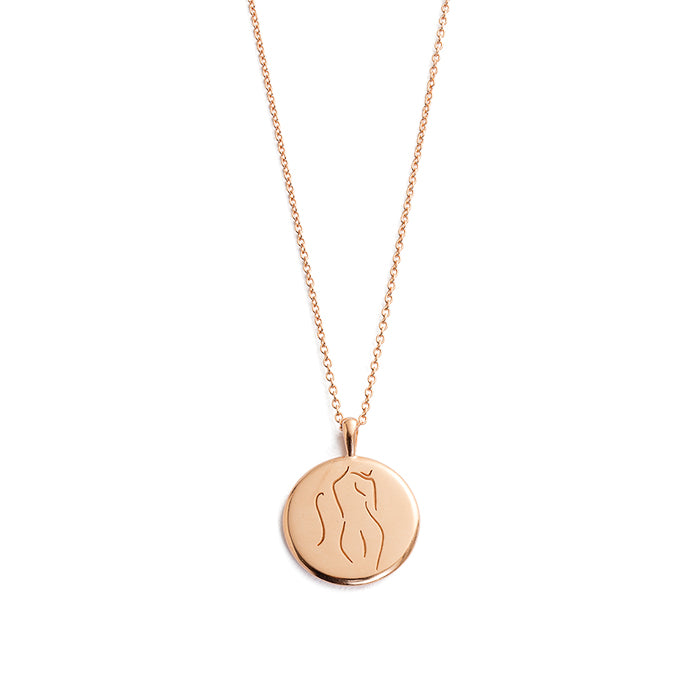KIRSTIN ASH SHE // BELIEF AMULET NECKLACE RG