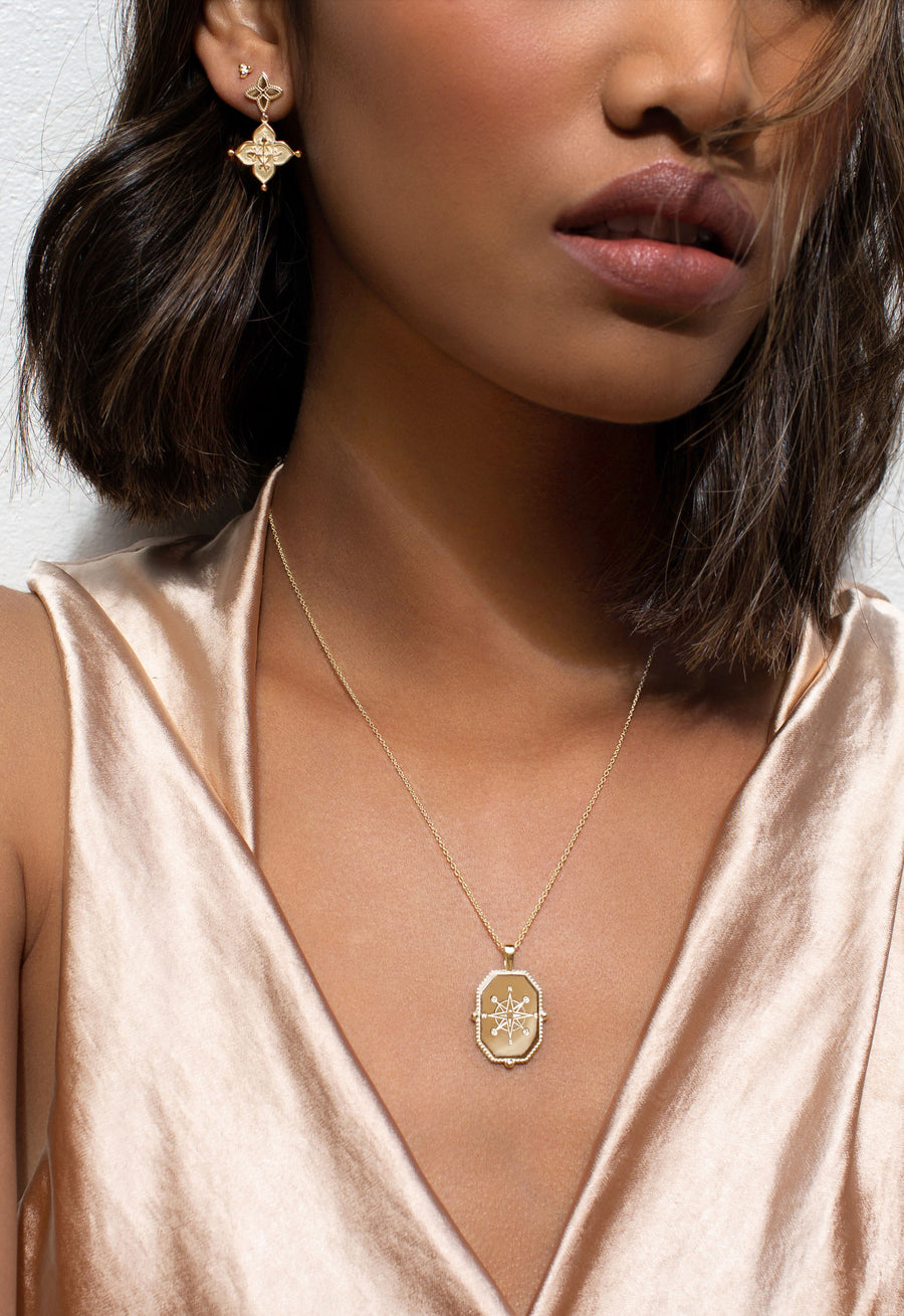 HOPE COLLECTION | COMPASS NECKLACE