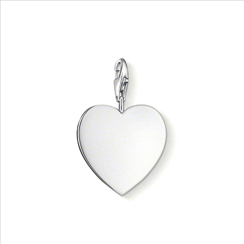 THOMAS SABO CHARM CLUB SILVER FLAT HEART