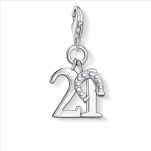 CHARM CLUB LUCKY NUMBER 21