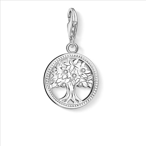 CHARM CLUB TREE OF LIFE ZIRCONIA