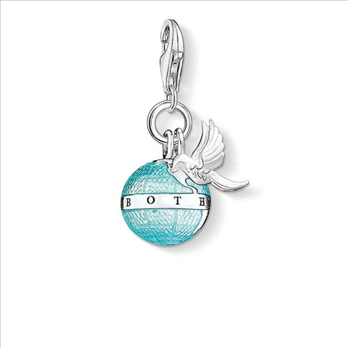 THOMAS SABO CHARM CLUB GLOBE & DOVE