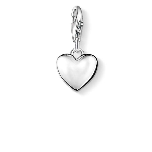THOMAS SABO CHARM CLUB SOLID DOMED HEART