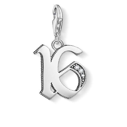 THOMAS SABO CHARM CLUB '16' PENDANT