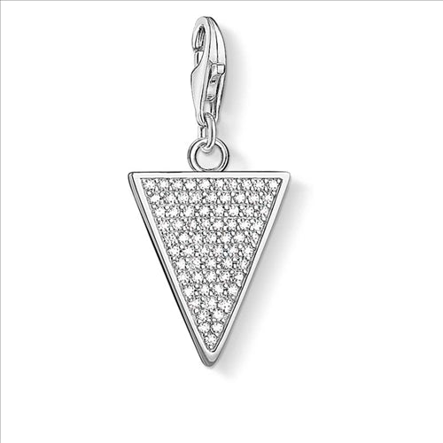 CHARM CLUB TRIANGLE PENDANT