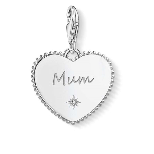 THOMAS SABO CHARM CLUB MUM HEART PENDANT