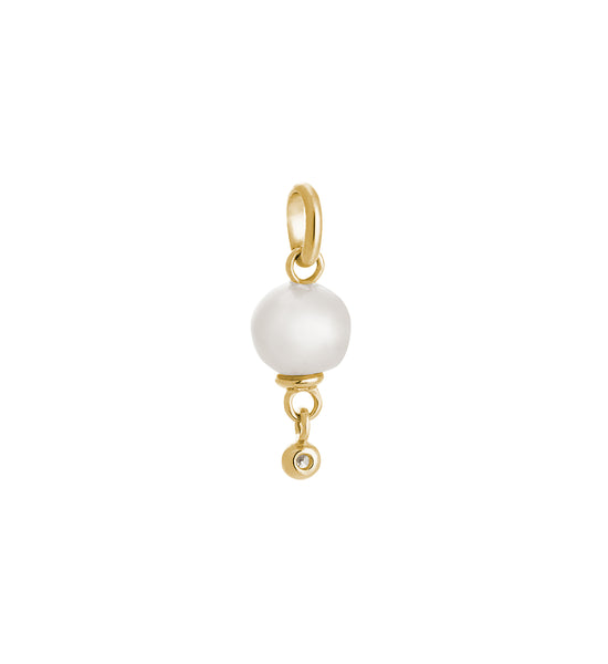 KIRSTIN ASH VOYAGE // FRESHWATER PEARL DROPLET CHARM